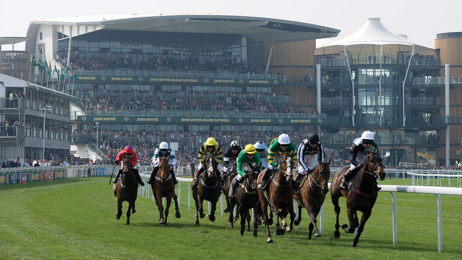 The most challenging steeplechases in the world are at Aintree