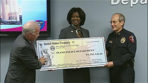 Merry Christmas and Happy New Year: the Plano, Texas police department gets a head-start on their holiday party funds, courtesy of a sports betting bust.