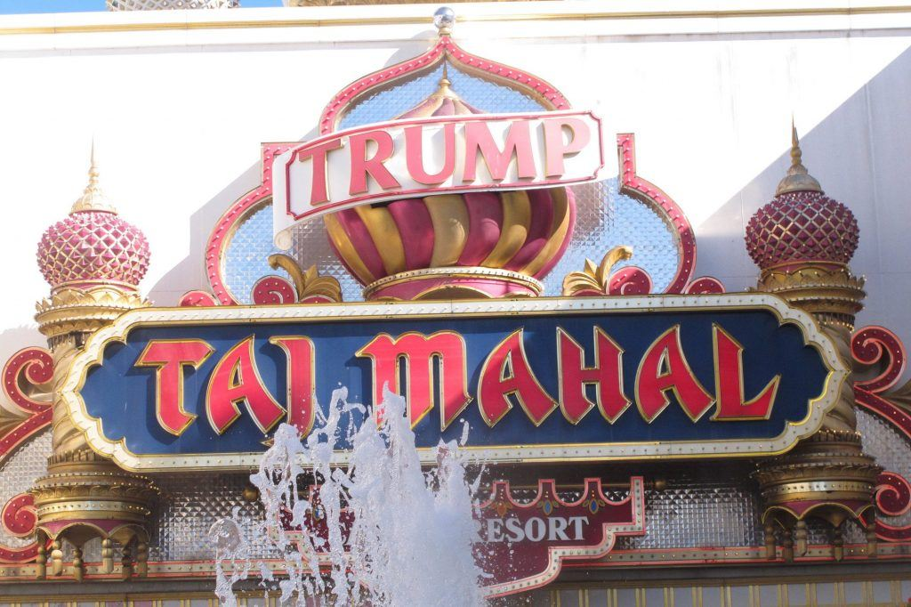 The Trump Taj Mahal casino in Atlantic City, N.J. Donald Trump Called his Third Atlantic City Casino Hotel the Eighth Wonder of the World. ( (Wayne Parry / Associated Press)