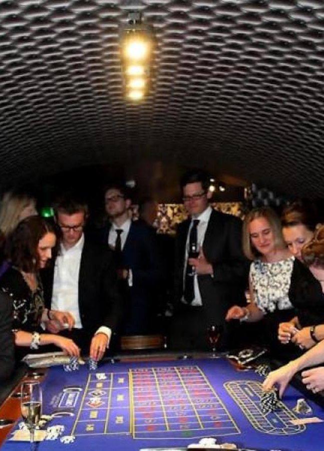 Basement Casino at North Cadbury Court