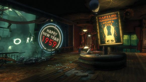 First Bioshock game gameplay visuals