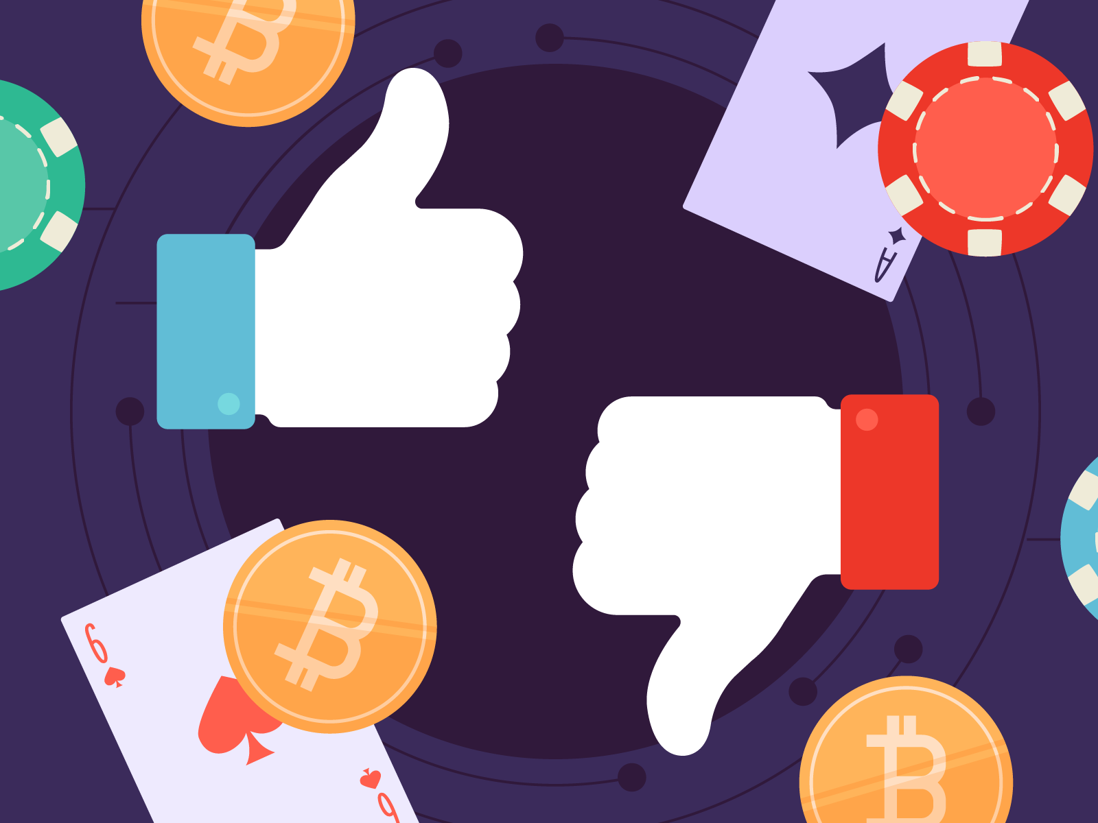 Pros and cons of bitcoin online poker