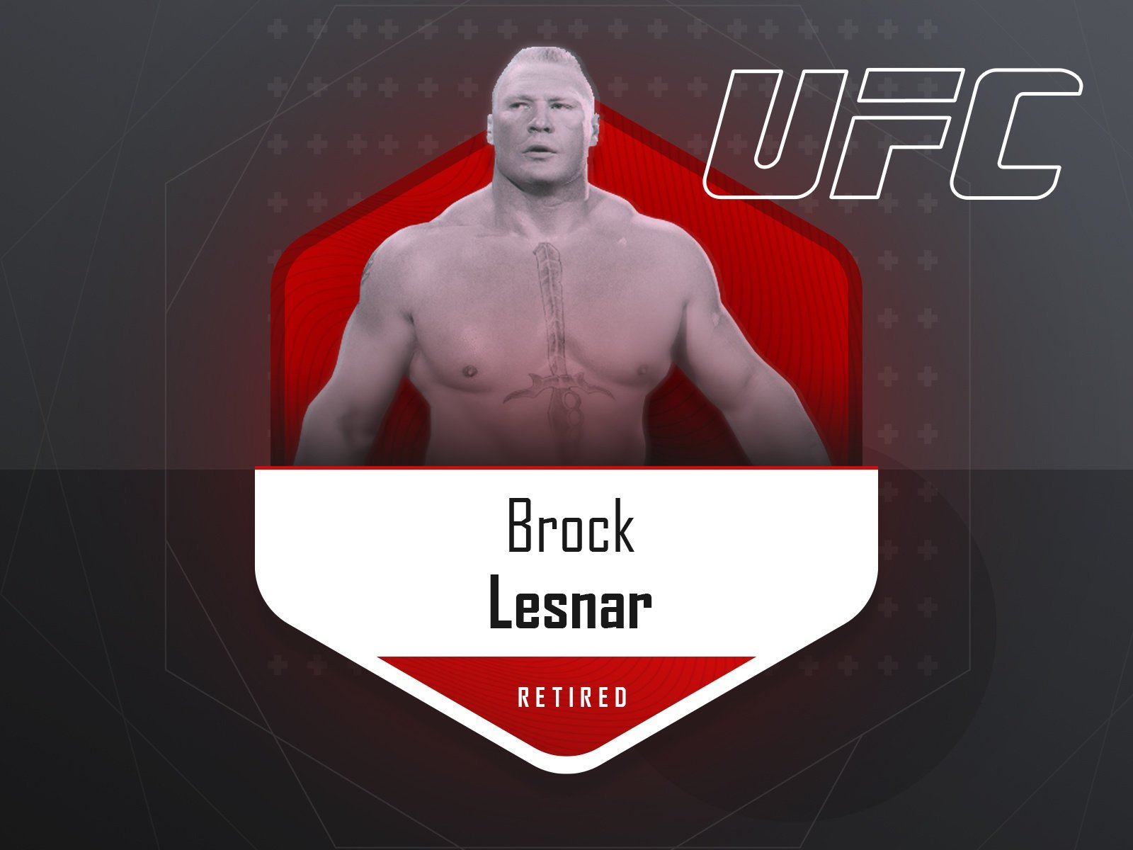 Brock Lesnar - UFC fighter