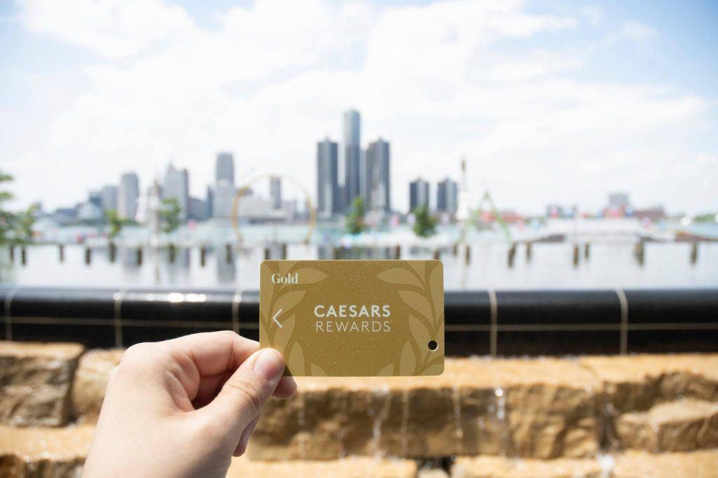 Caesars Rewards card
