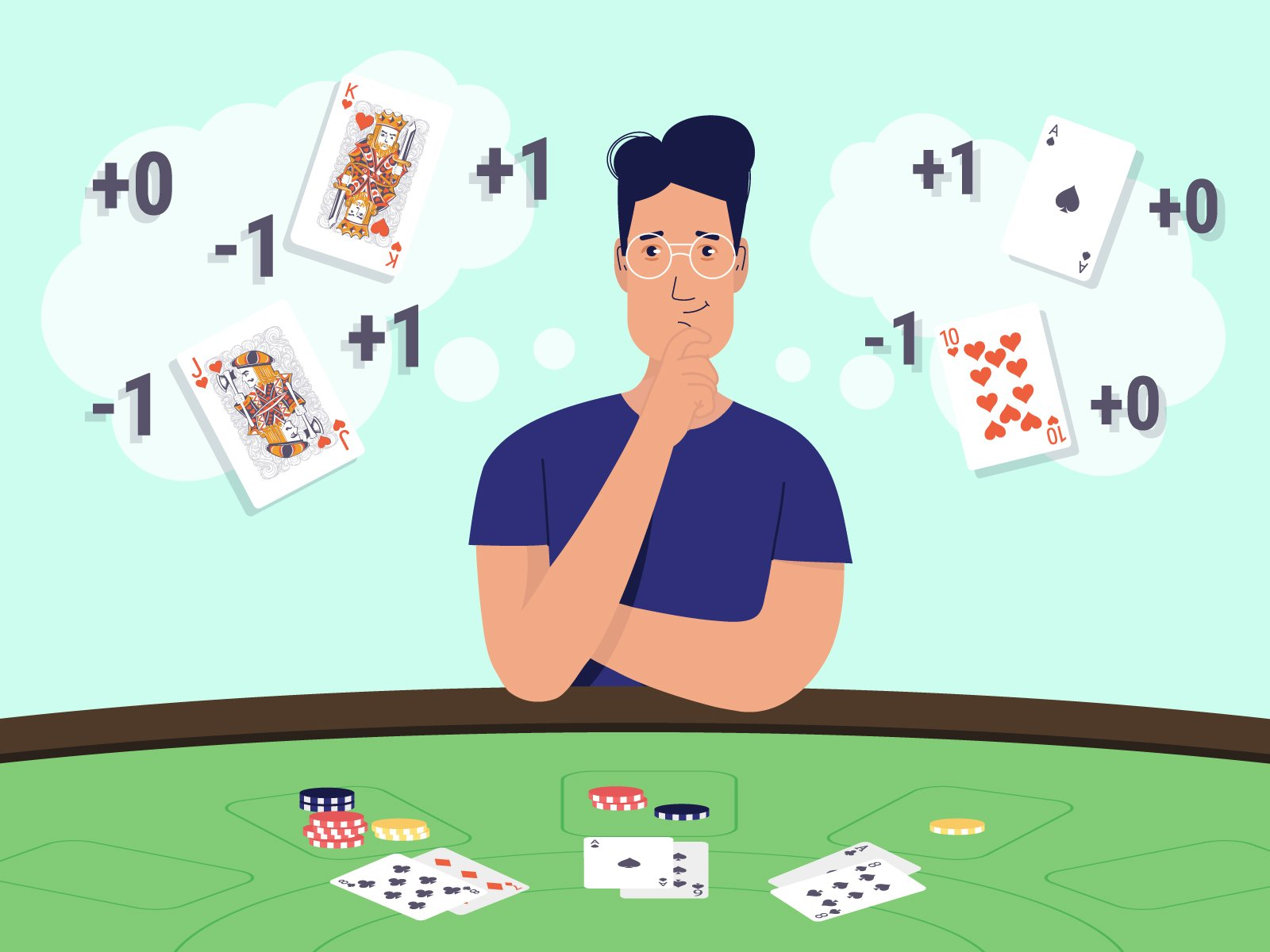 6 Reasons Why You Should Never Count Cards