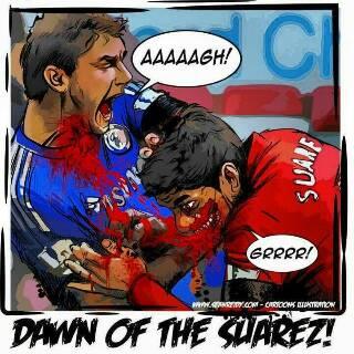 Luis Suarez, Giorgio Chellini, FIFA World Cup 2014