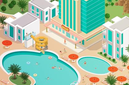 Casino hotel complex