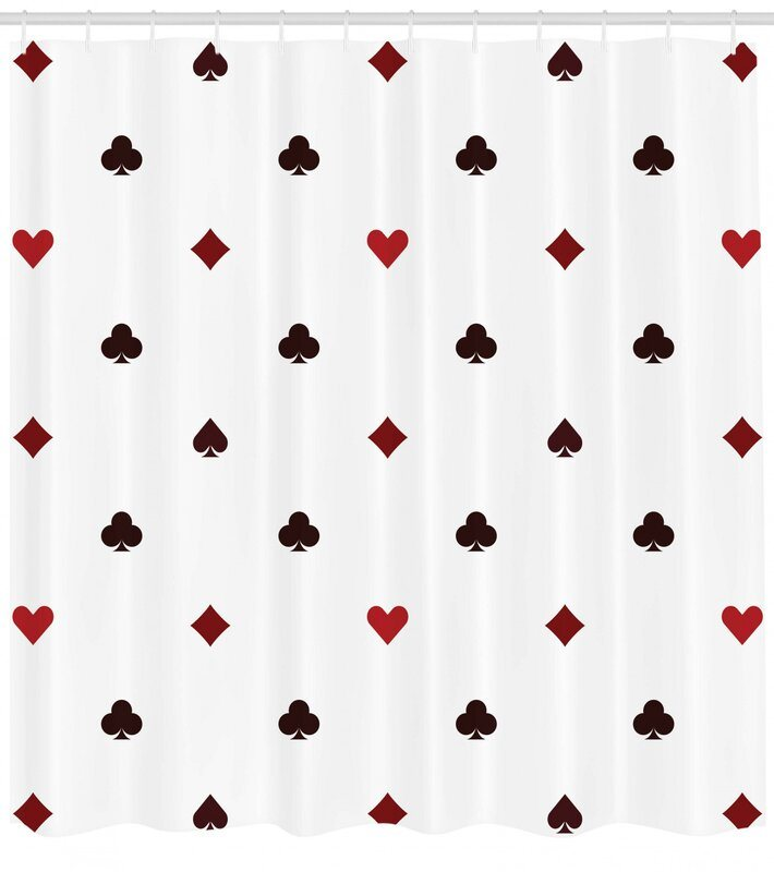 Casino Shower Curtain Set