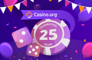 Casino.org 25 years celebration