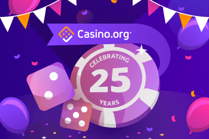Casino.org 25 years celebration