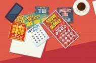 Illustration of scratch offs