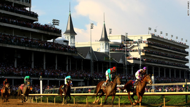 The Triple Crown's most famous race takes place at Churchill Downs.