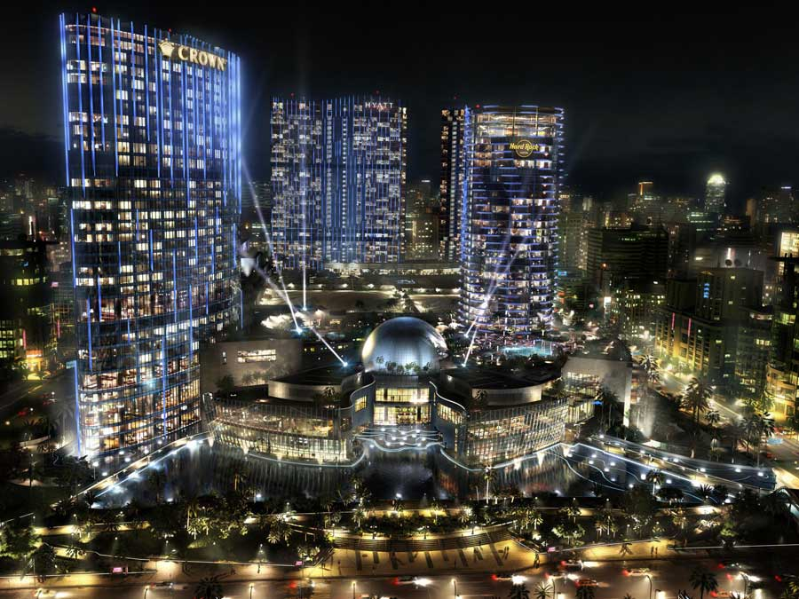 """City Of Dreams Casino"" (Source: E-architect.co.uk)"