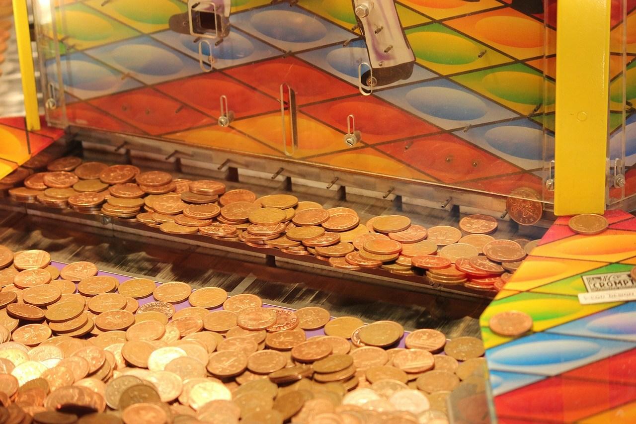 Penny drop machine