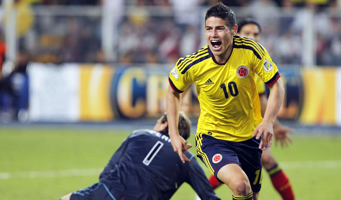 Columbia, James Rodriguez, FIFA World Cup 2014