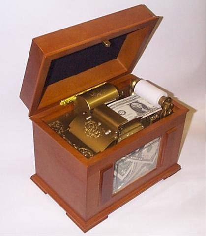 Count Victor Lustig money box