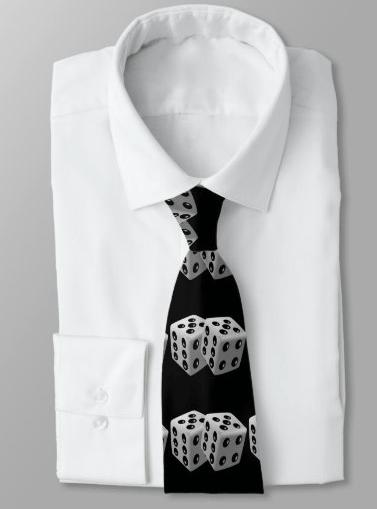 Dice Necktie