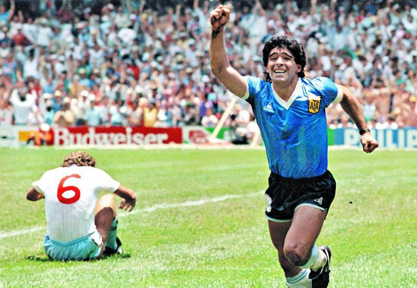 Diego Maradona - footballer