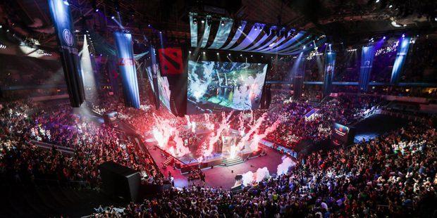 "eSports Dota event ""International 2017"""