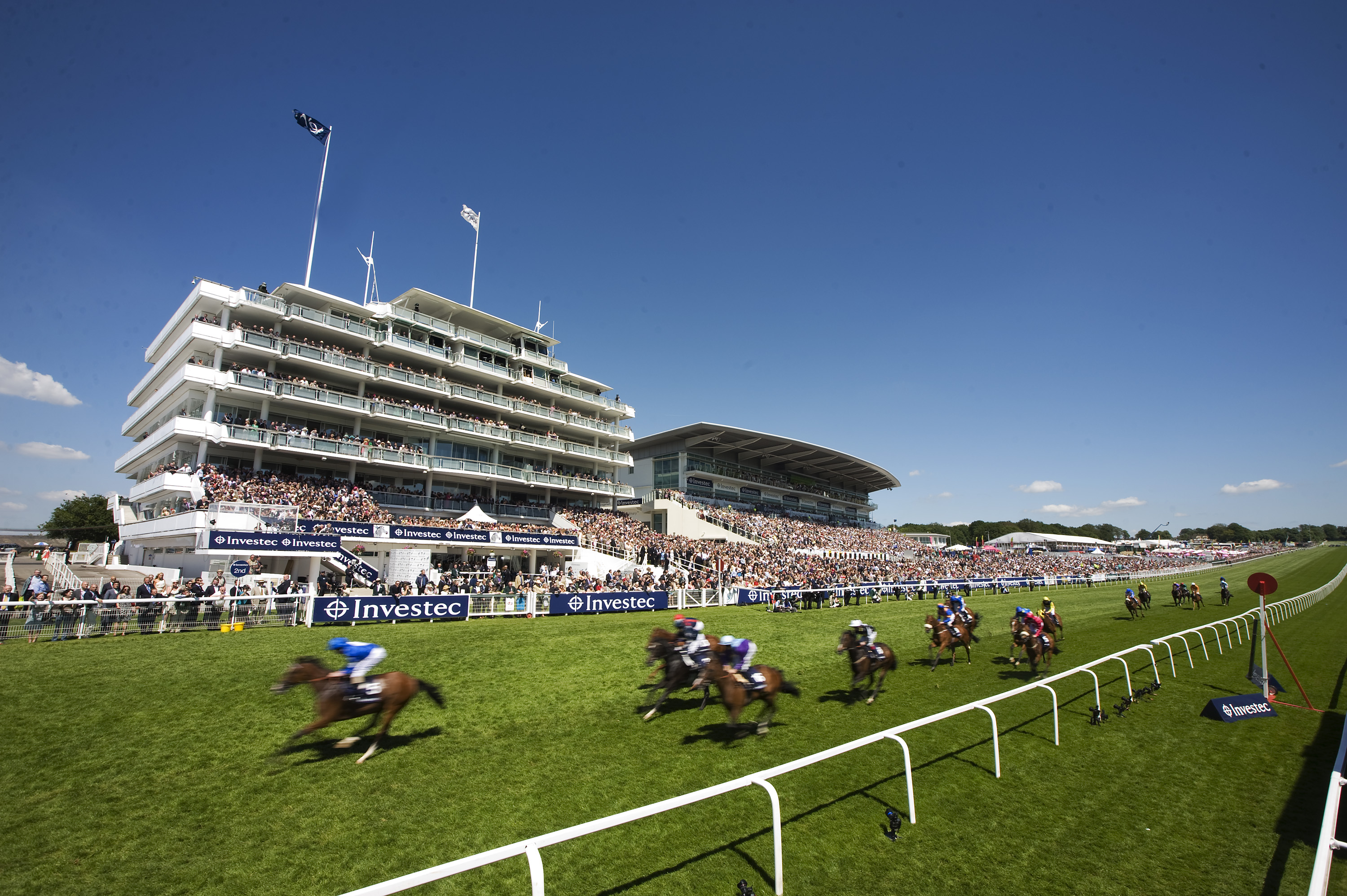 Epsom Downs has been raced at in five different centuries