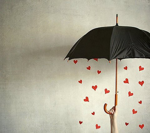 Love brings no umbrellas, so bet with your eyes open, ready for rain or shine.