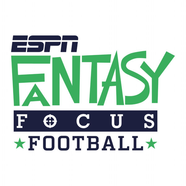 ESPN Fantasy Focus Football podcast logo on a white background