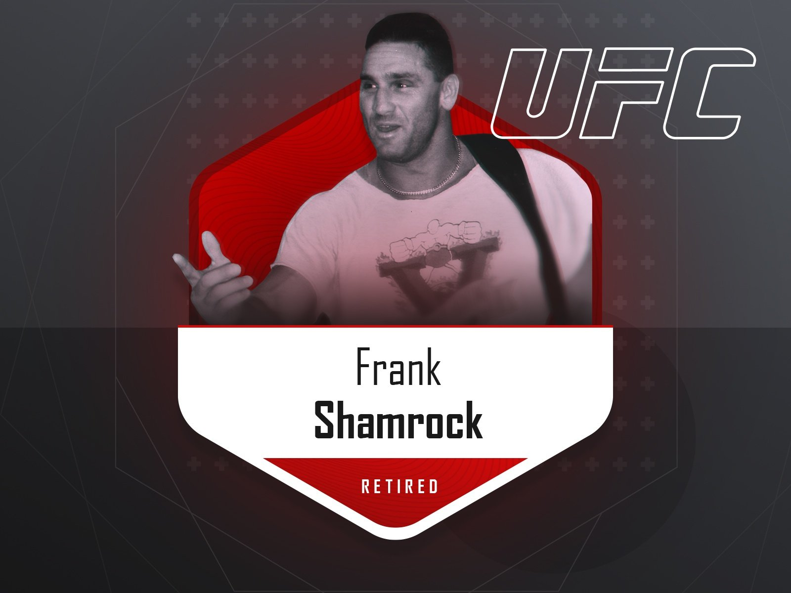 Frank Shamrock - UFC fighter
