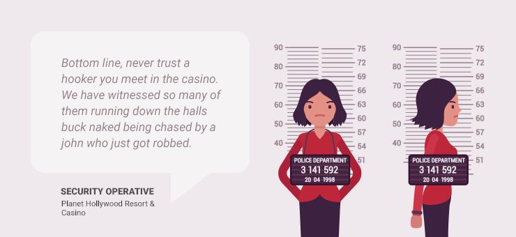 hooker robs gambler in Vegas casino hotel