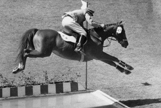 Lompat jauh kuda di Olimpiade