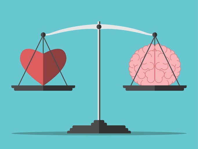 heart and head illustration