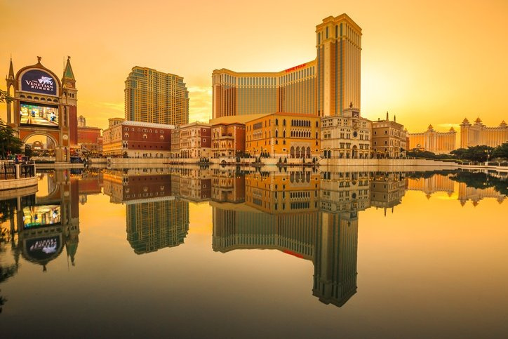 venetian macau sunset