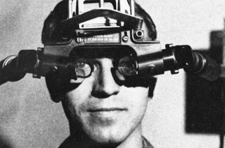 Ivan Sutherland's head mounted virtual reality display aka The Sword of Damocles, 1968. (Source: geek.com)