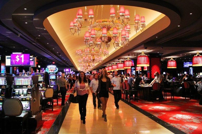 Bill's gambling hall