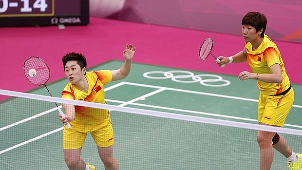 Chinese badminton match-fixing, London 2012