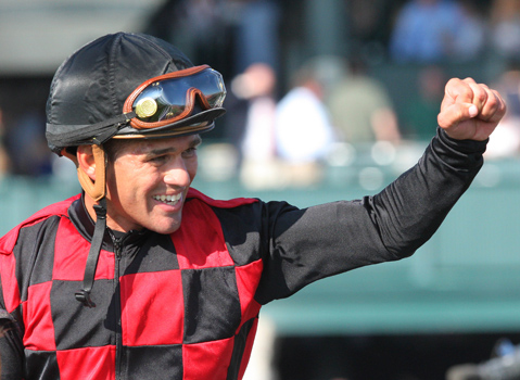 At his current pace, Javier Castellano will be a shoe-in for Racing Hall of Fame