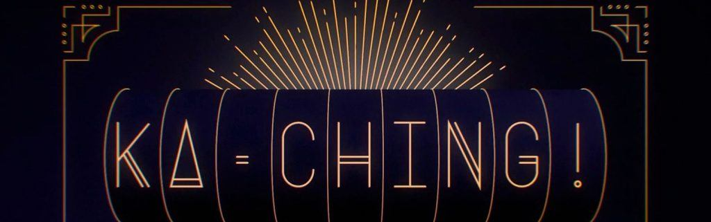 The logo for the Ka Ching! Pokie Nation Documentary