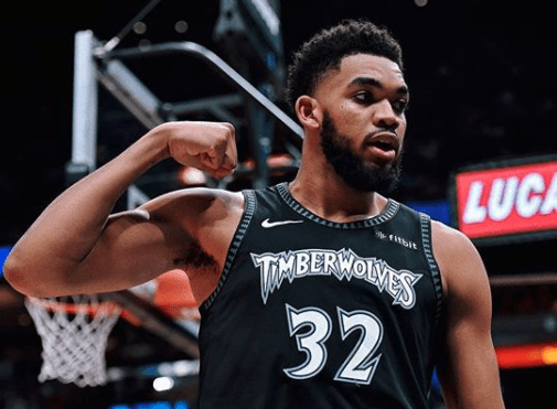 Karl Anthony Towns - NBA player