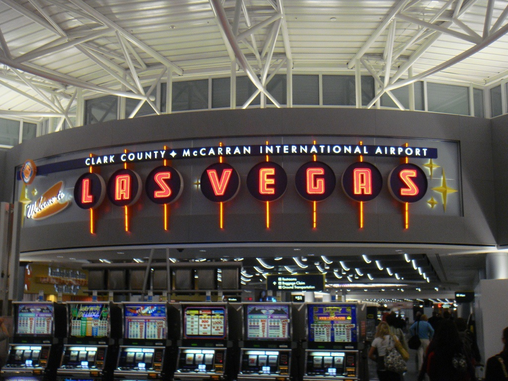 Don't spend the first or last of your winnings at the airport. (Image: www.flickr.com)