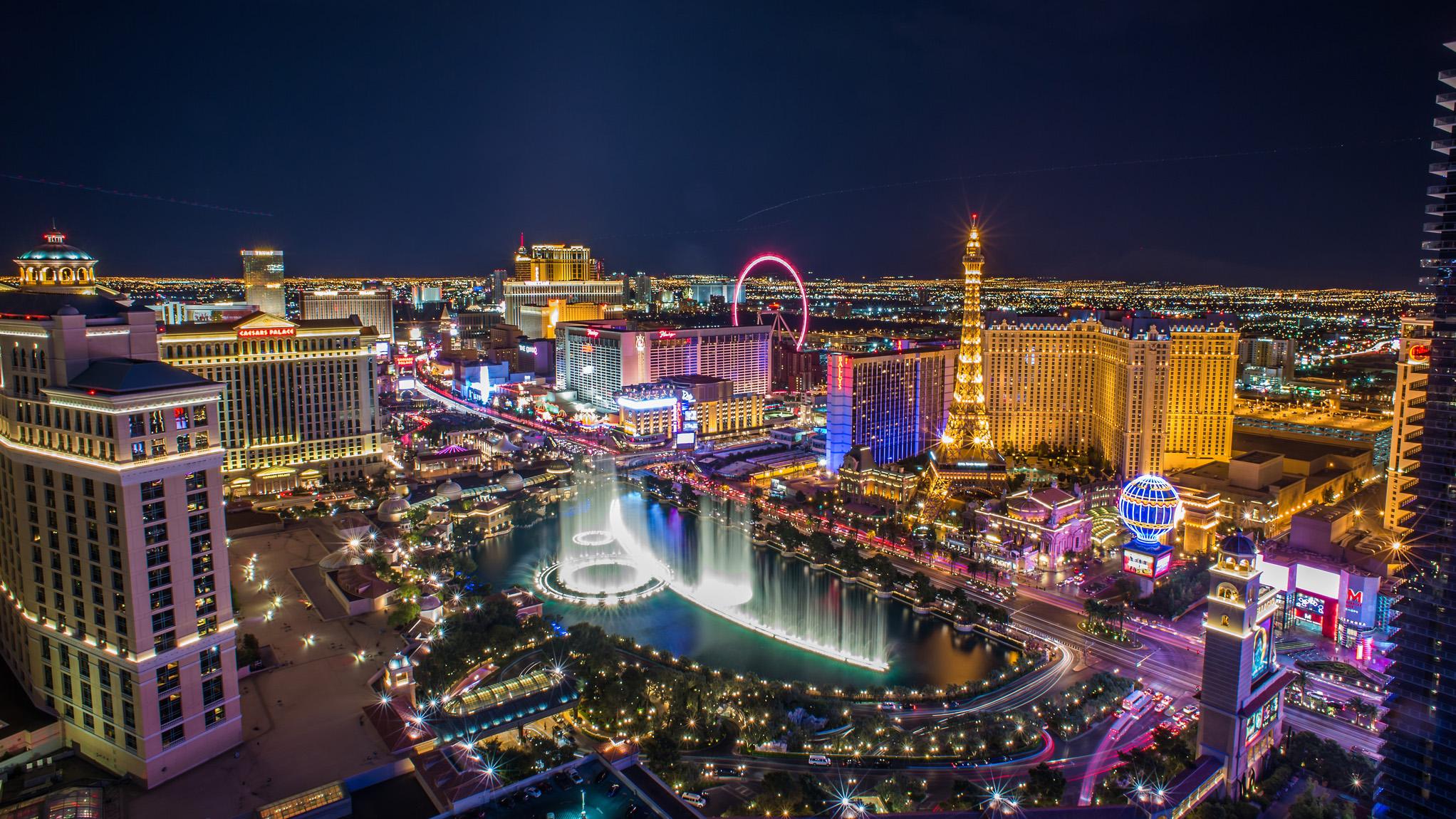 Las Vegas Skyline.(searchrank.com)