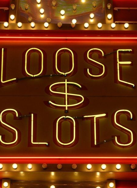Loose slots sign.