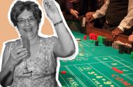 Patricia Demauro - longest craps roll record