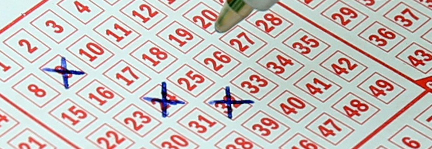 Lotto ticket.