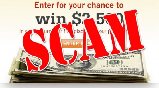 Lottery Scams are much too common these days. (Image credit: lottosignals.com)
