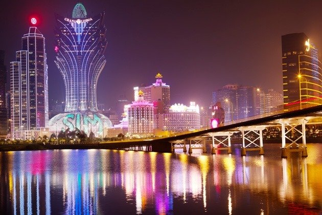 The Skyline Of Macau. (Image credit:Bloomberg.com)