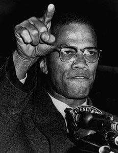 Malcolm X Russian roulette