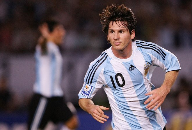 Lionel Messi, Argentina, Venezuela, FIFA World Cup 2014