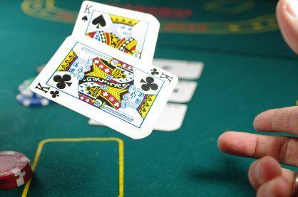 Poker cards.