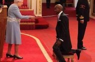 Mo Farah knighted