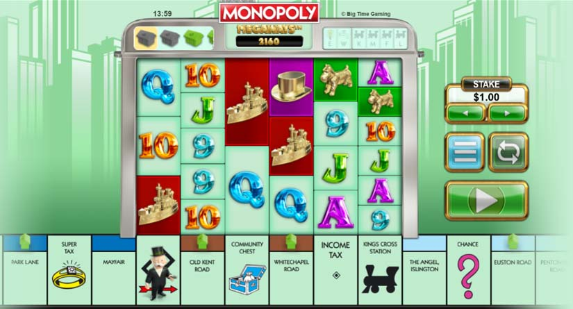 Khe Megaways Monopoly