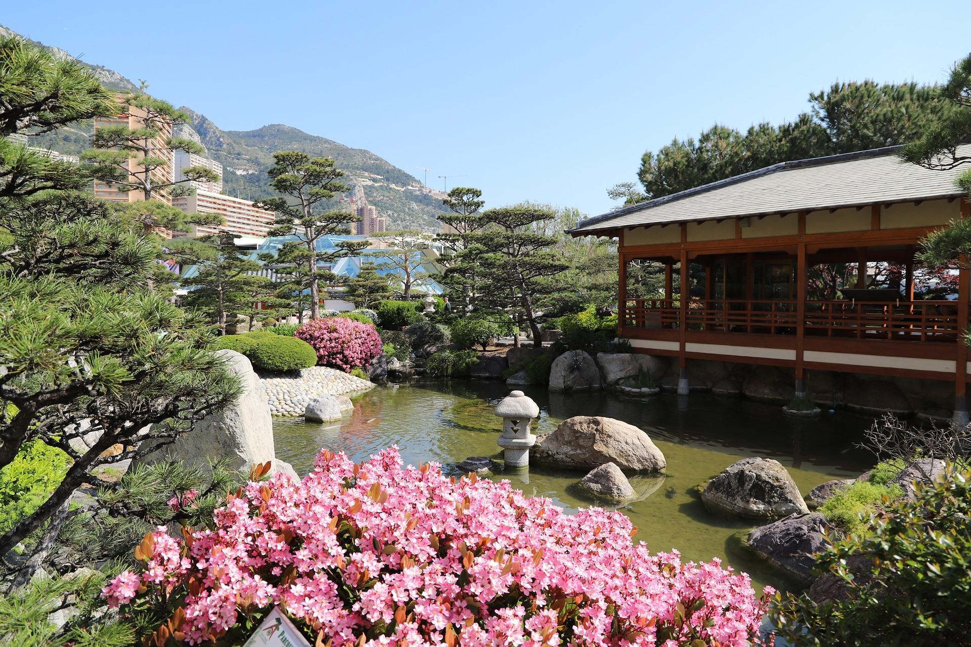 Japanese gardens Monaco